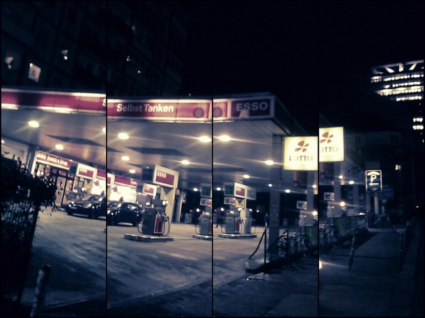 Esso-Tanke auf'm Kiez | © medienstrand.de