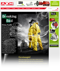 Microsite | Breaking Bad